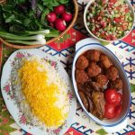 روش پخت گوشت قلقلی و بادمجان