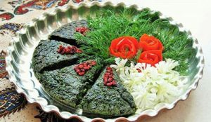 دستور تهیه کوکو سبزی