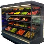 یخچال ایستاده میوه و سبزیجات