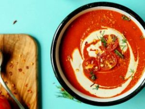 دستور تهیه سوپ گوجه فرنگی