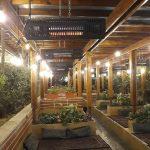 هیتر گرمایشی سقفی رستوران و کافه