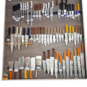 انواع چاقو آشپزخانه صنعتی