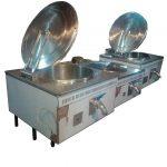 دیگ صنعتی پخت غذا مکعبی