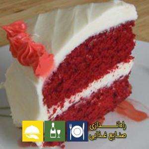 طرز تهیه کیک قرمز مخملی